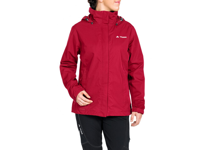 VAUDE Escape Bike Light Jacket Dam indian red